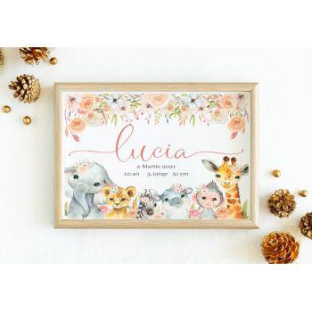 Tablou personalizat cu numele copilului