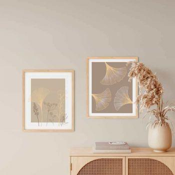 Tablou Abstract Art | Gingko Biloba