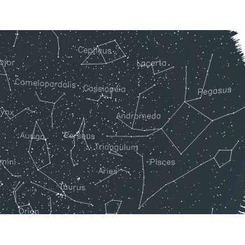 Tablou cu harta stelelor