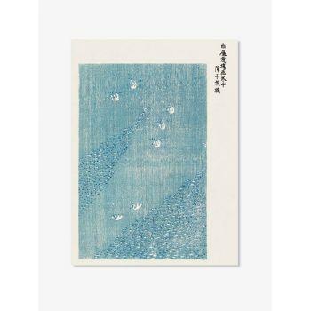 Tablou Famous Art | Japanese vintage woodblock Tomoki no.1