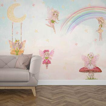 Tapet camera copiilor Zane- Moon Fairies