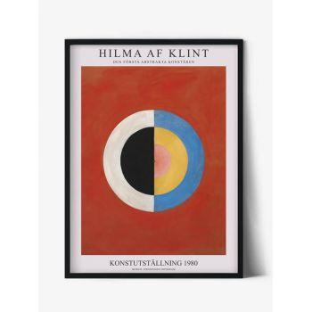 Tablou Famous Art | Hilma af Klint, The Swan, no.17