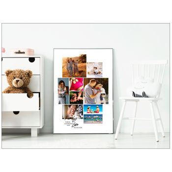 Tablou colaj personalizat cu fotografiile tale