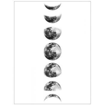 Tablou Art Print Fazele Lunii