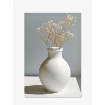 Tablou Art Print cu flori albe