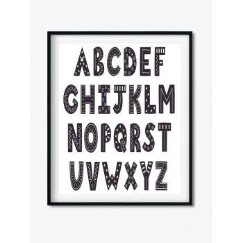 Tablou decor cu Alfabetul