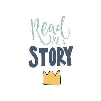 Tablou cu mesaje emotionate camera copilului Read a Story