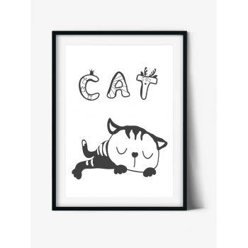 Tablou pentru camera copiilor Pisica