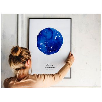 Tablou personalizat cu zodia stele