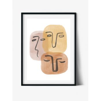 Tablou Abstract Art Abstract faces