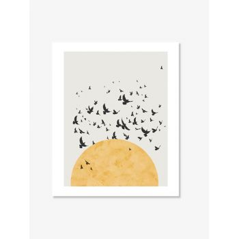 Set tablouri Art Prints minimalist soare