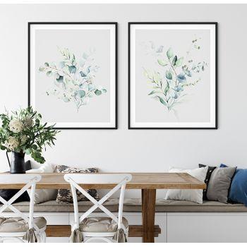 Tabloul Fine Art Poster Frunze eucalipt