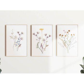 Set tablouri Art Prints floral