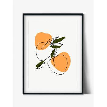 Tablou Abstract Art Peach