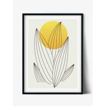 Tabloul Abstract Art Flower Sun no.1